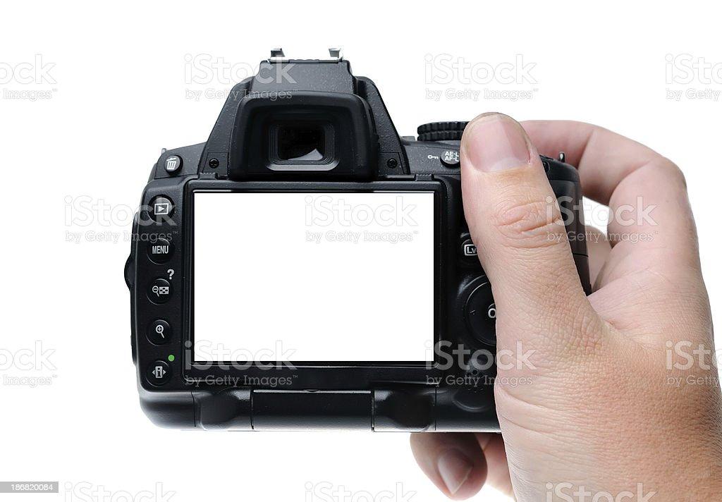 Taking a photo stock photo