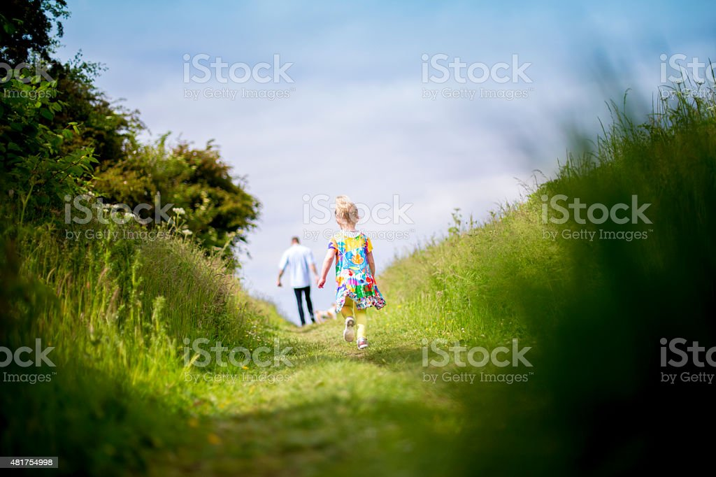 Taking A Walk Out stock photo