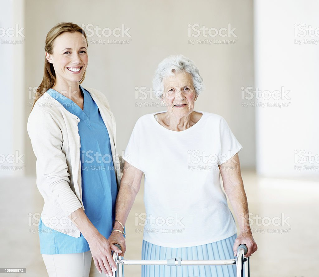 Taking an opportunity to show kindness royalty-free stock photo