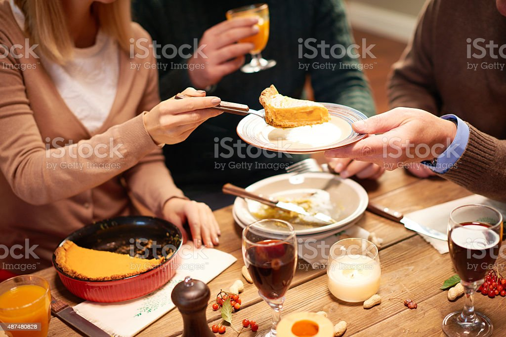 Taking care of relatives stock photo