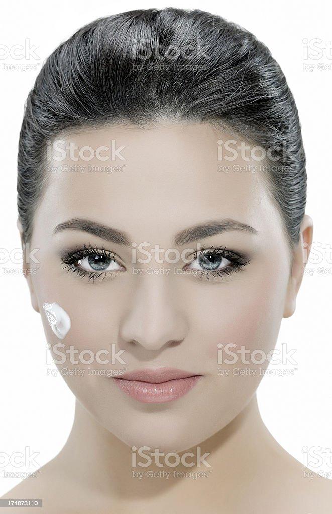 taking care of skin royalty-free stock photo