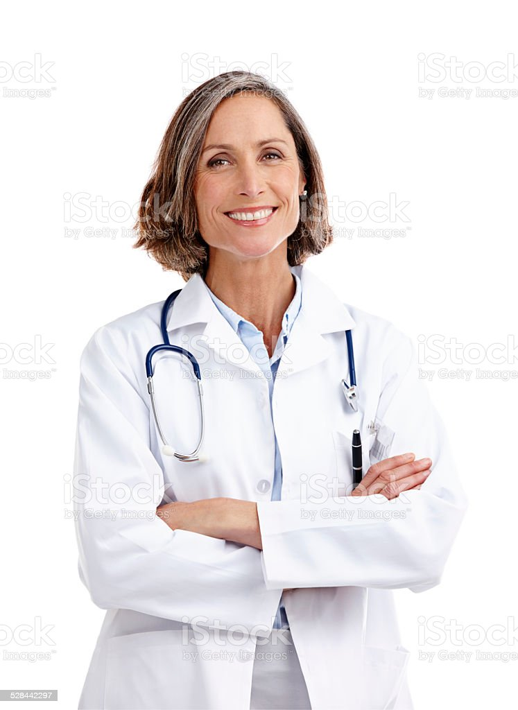 Taking care of your healthcare needs stock photo