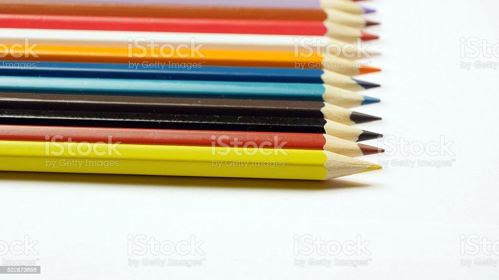 Tomar lápiz de colores foto de stock libre de derechos