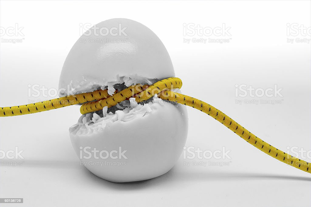 Taking dieting too far stock photo