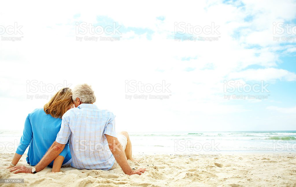 Taking in a spectacular view royalty-free stock photo