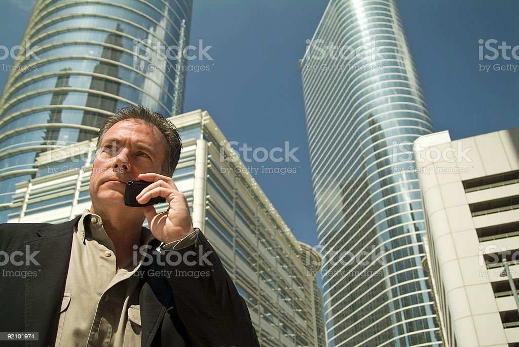 Taking it Downtown royalty-free stock photo
