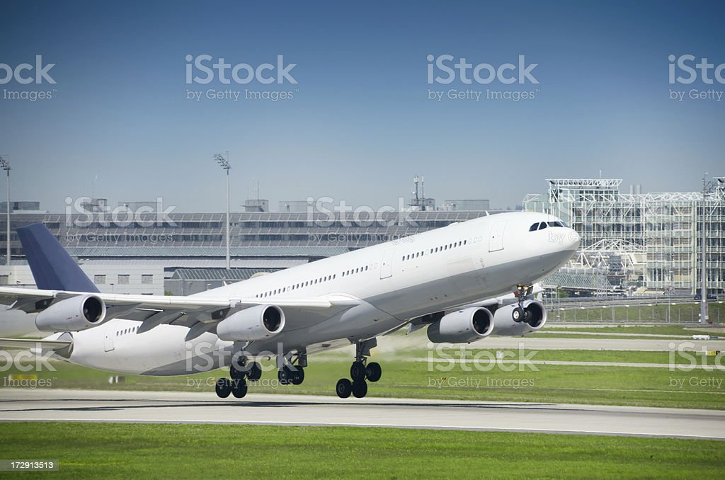 Taking Off stock photo