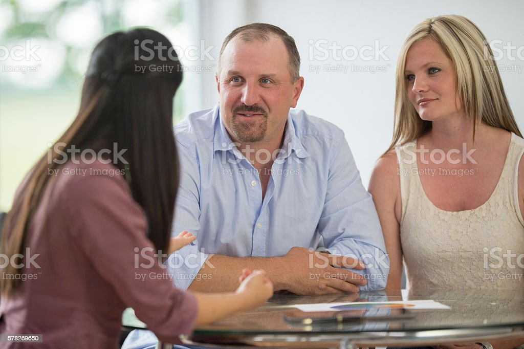 Taking out a Loan stock photo