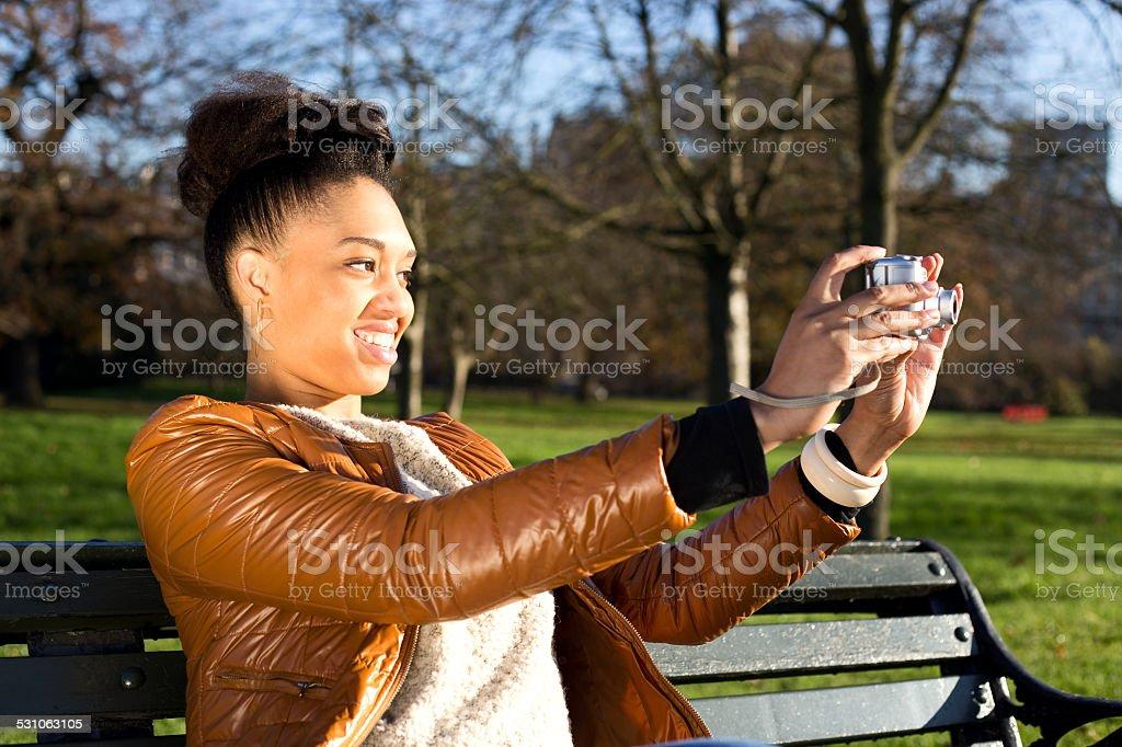 taking photo royalty-free stock photo