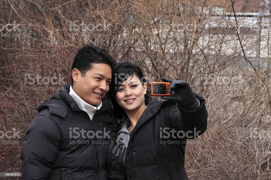 Taking Photos stock photo