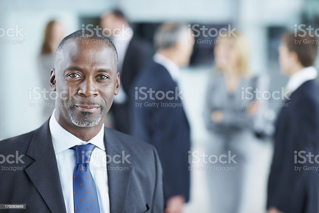 Taking pride in my work royalty-free stock photo