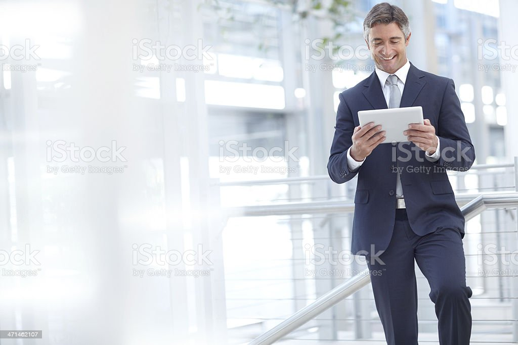 Taking the office with you - Mobility royalty-free stock photo