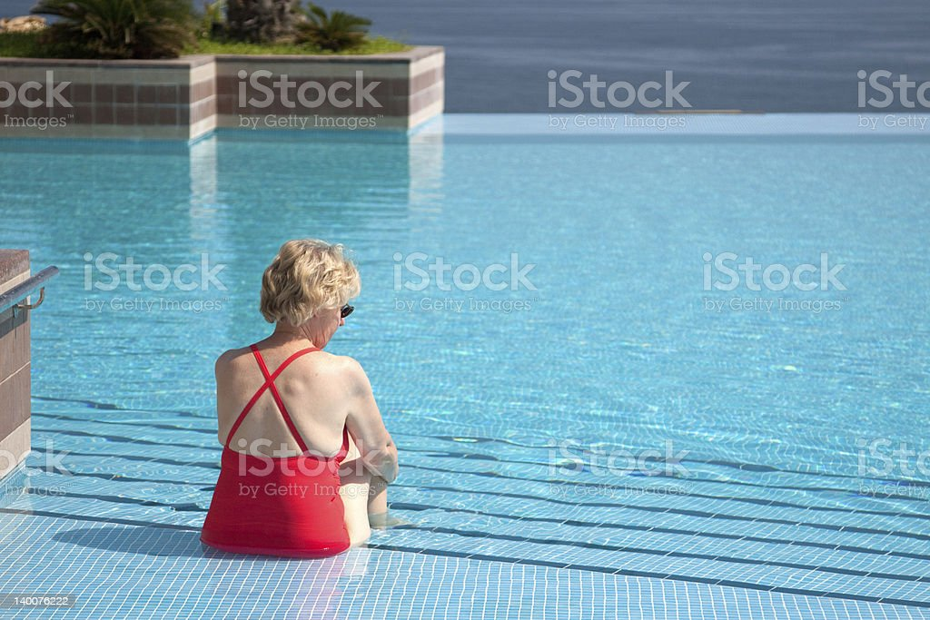 Taking To The Water royalty-free stock photo