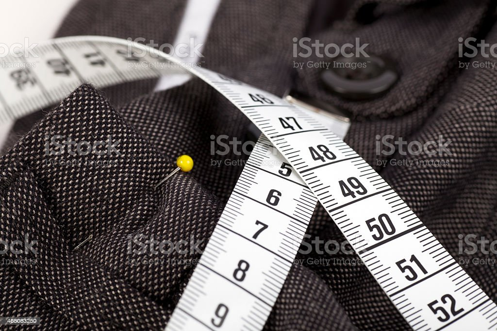 Taking Trousers In stock photo