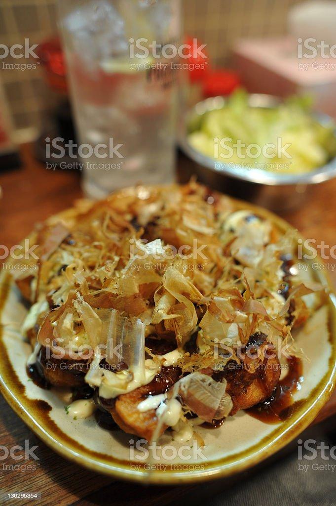 Takoyaki royalty-free stock photo