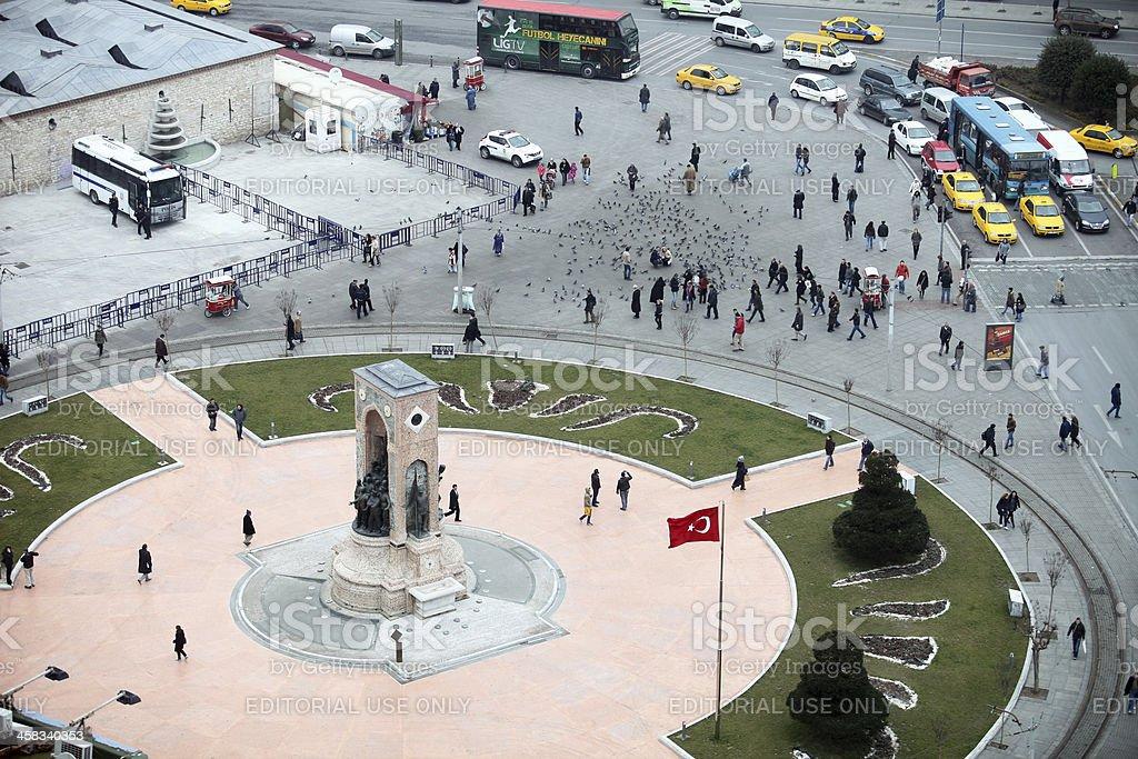 Taksim stock photo