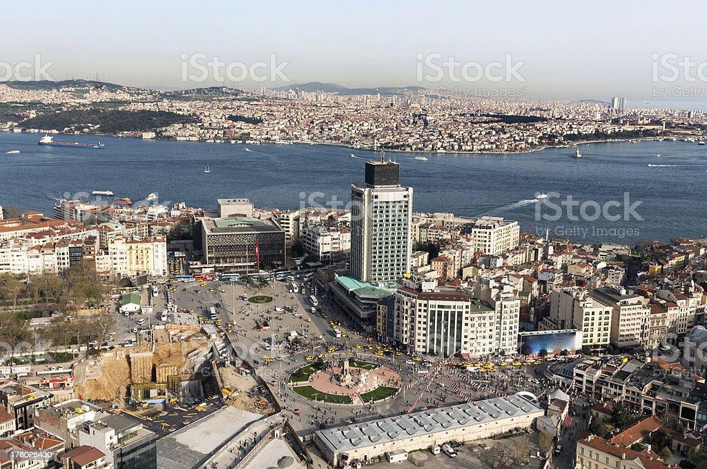 Taksim Square stock photo