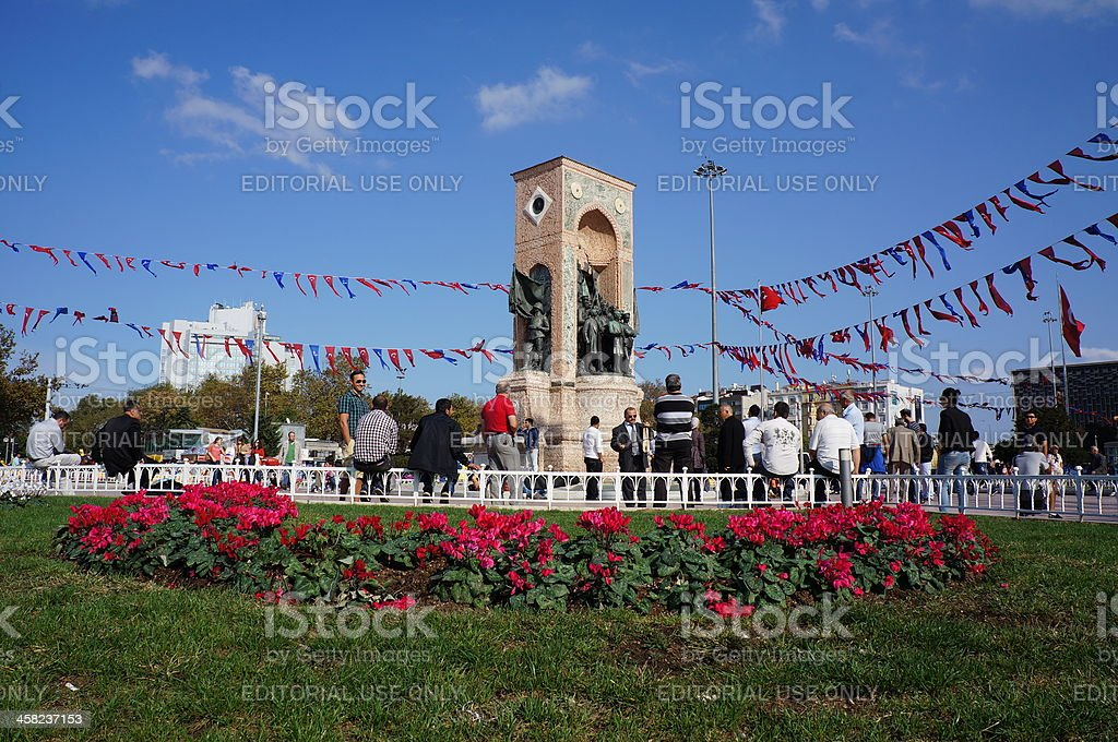 Taksim Square royalty-free stock photo