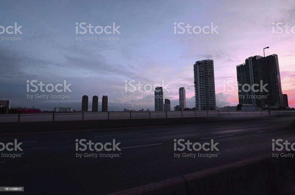 Taksin Bridge. royalty-free stock photo