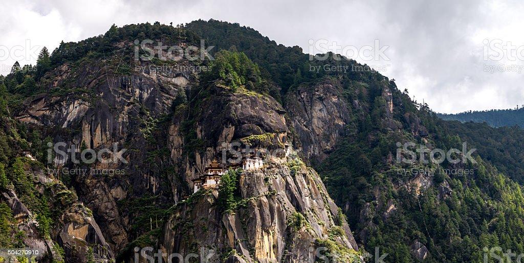 Taktsang, Paro province Bhutan Sep 2015. stock photo