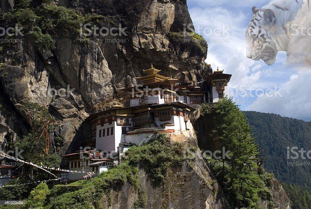Taktshang Goemba, Bhutan stock photo