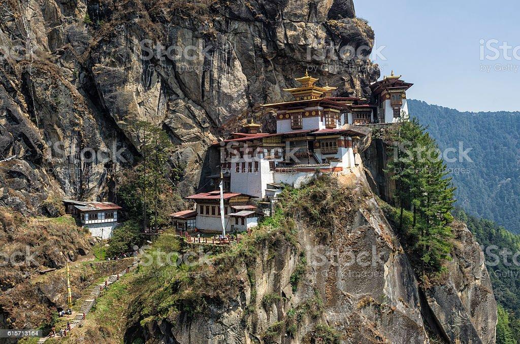 Taktshang monastery, Bhutan stock photo