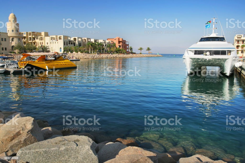 Tala Bay, Jordan stock photo