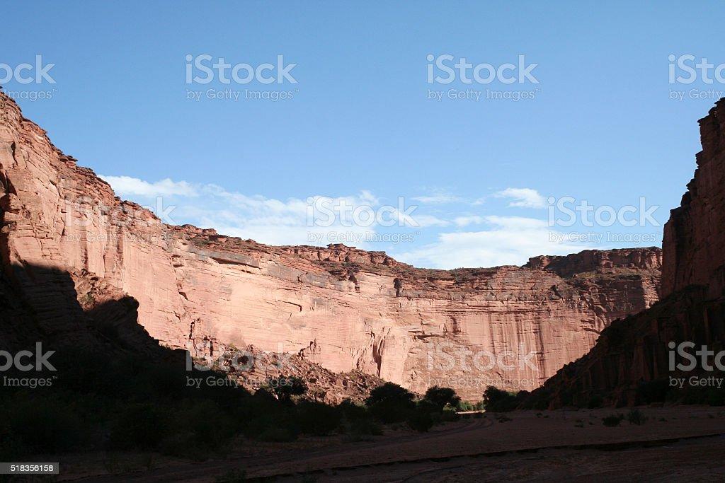 Talampaya National Park, La Rioja, Argentina stock photo