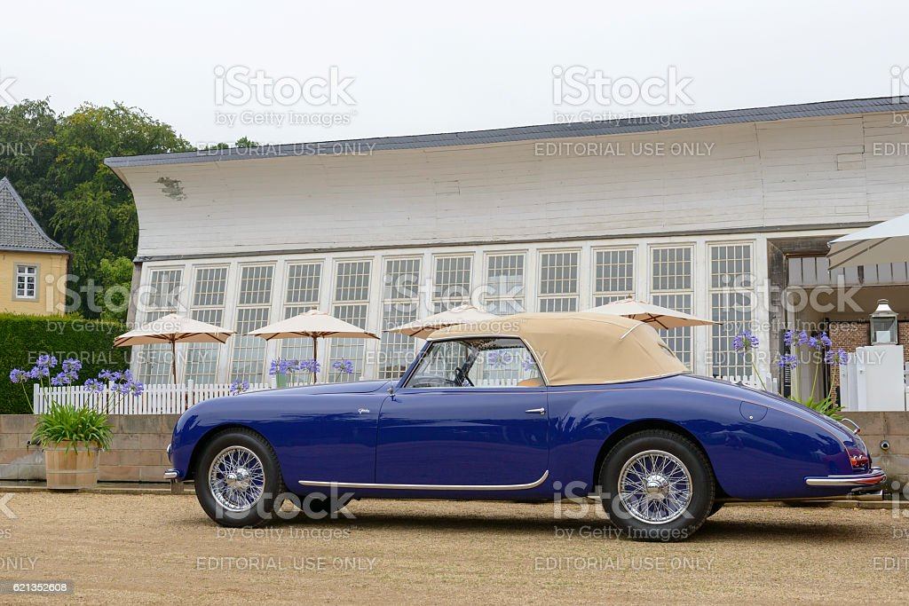 Talbot Lago T26 Record Drophead 1947 classic convertible car stock photo