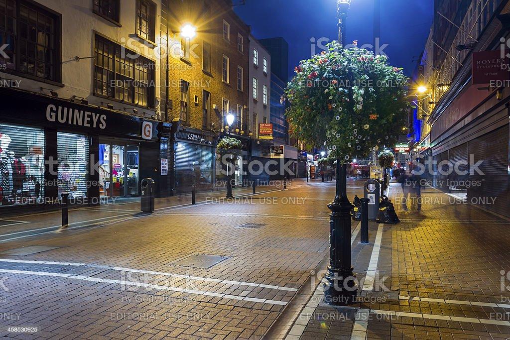 Talbot Street stock photo