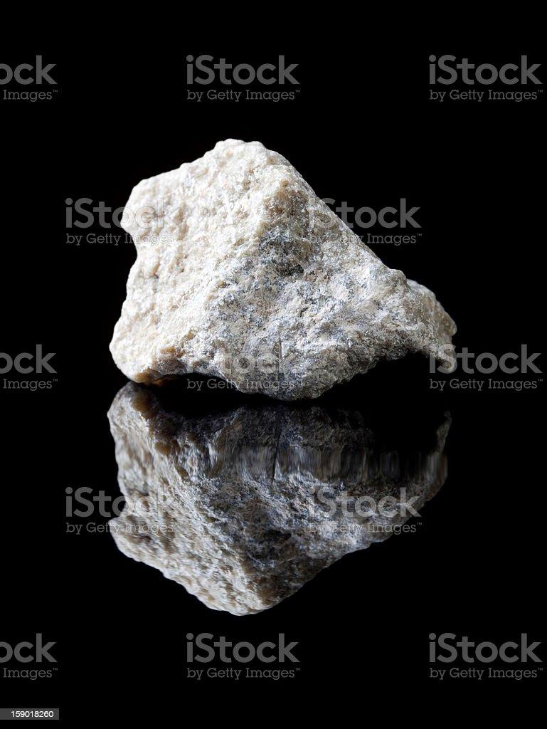 Talc or talcum rock stock photo