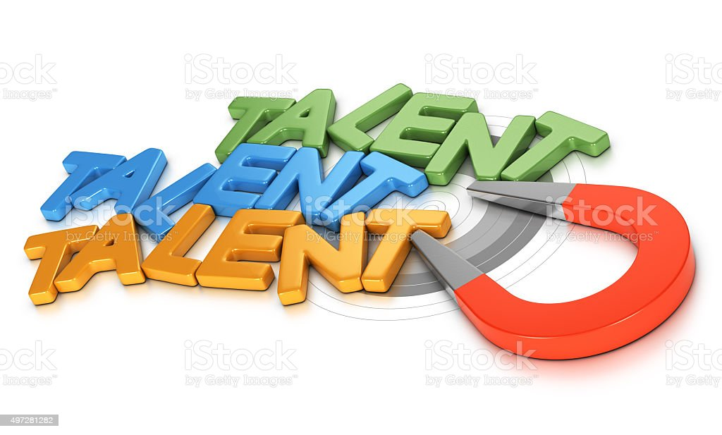 Talent Acquisition or Recruitment stock photo