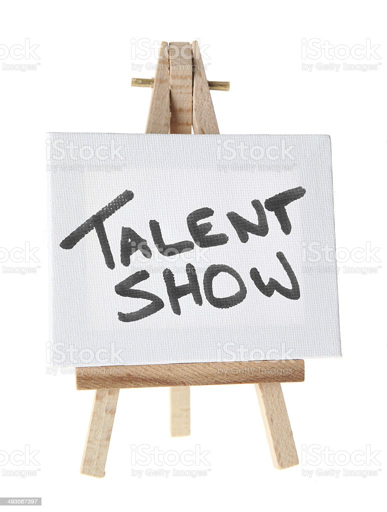 Talent Show stock photo
