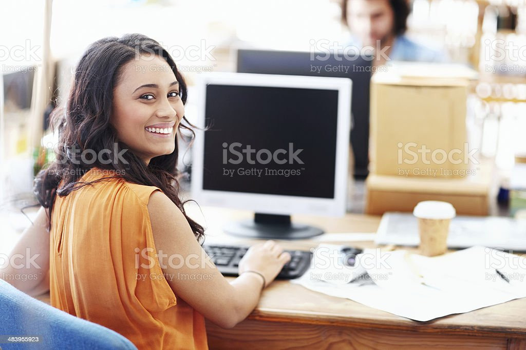 Talented, intelligent and hard-working - Architecture royalty-free stock photo