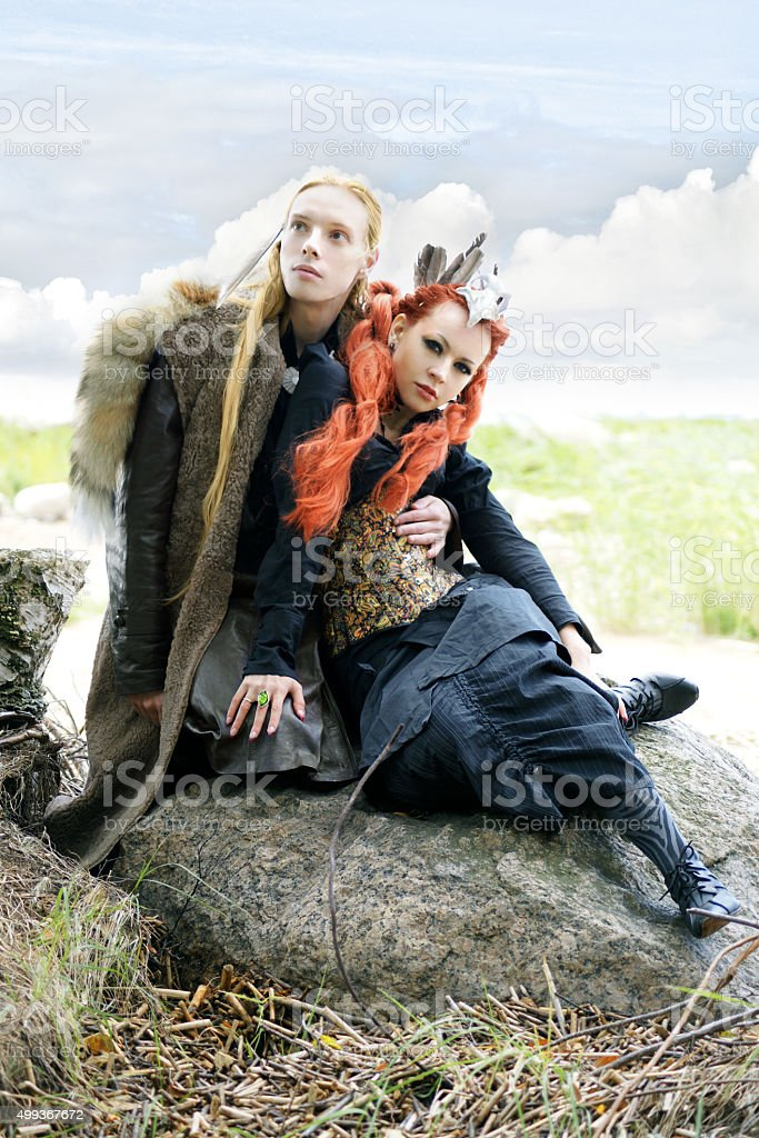 tales of north stock photo