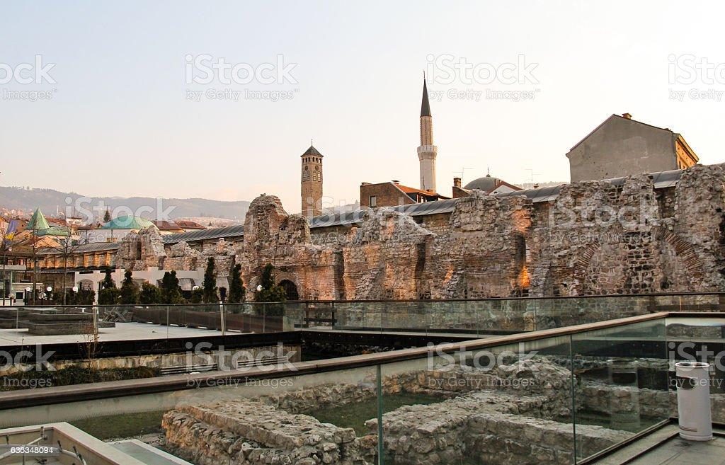 Tašlihan - An Old Caravanserai stock photo