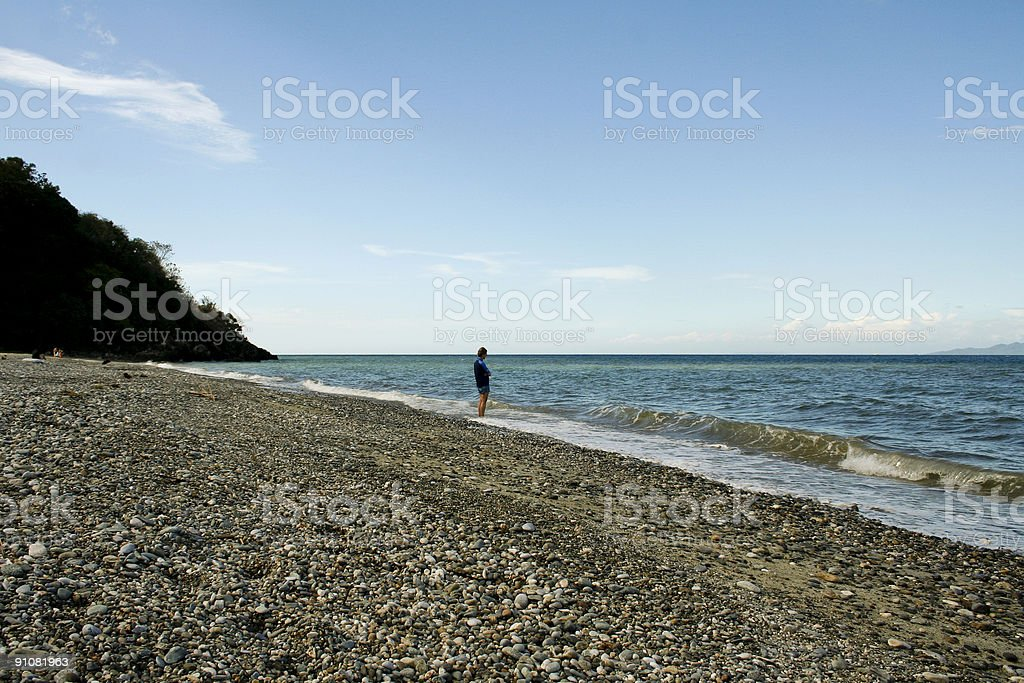 talipanan pebble beach mindoro philippines royalty-free stock photo
