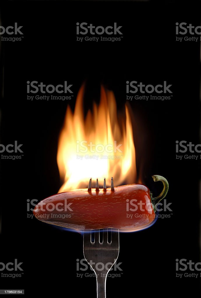 Talk about HOT! royalty-free stock photo