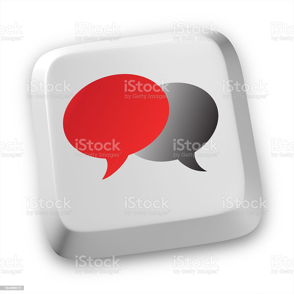 talk bubbles chat royalty-free stock photo