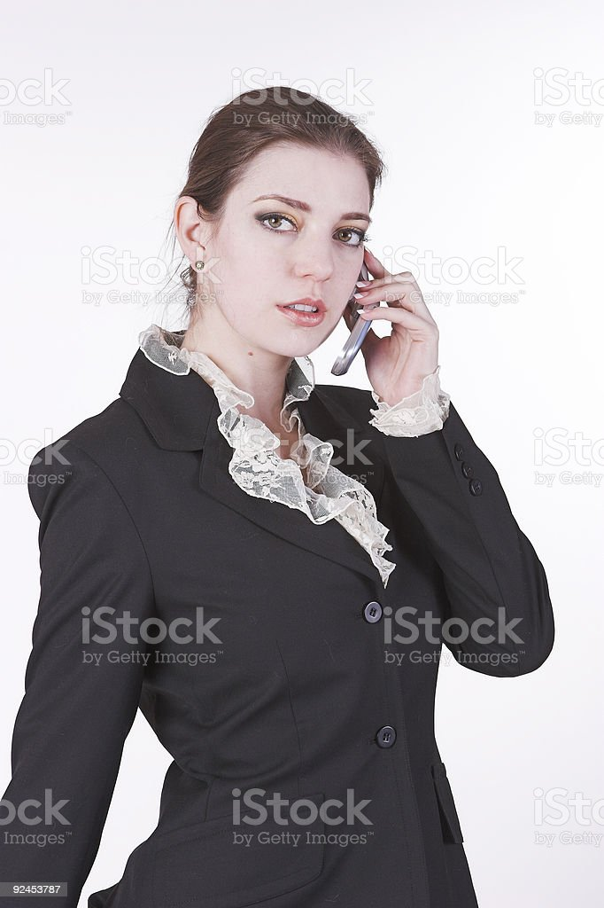 Talk to me royalty-free stock photo