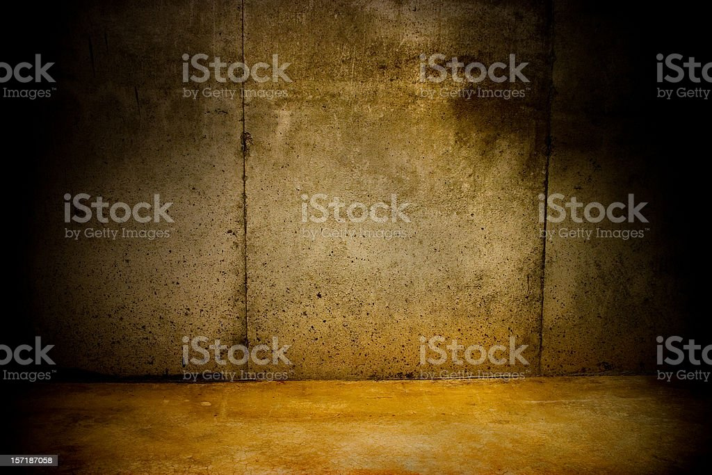 Talk to the Wall royalty-free stock photo