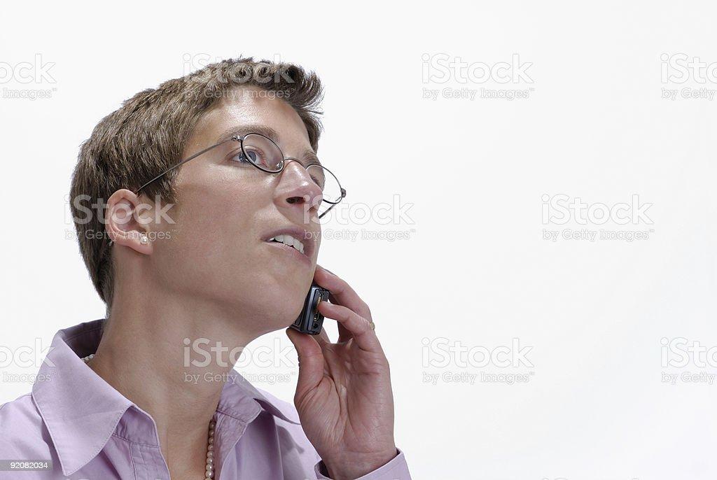 Talking Woman royalty-free stock photo