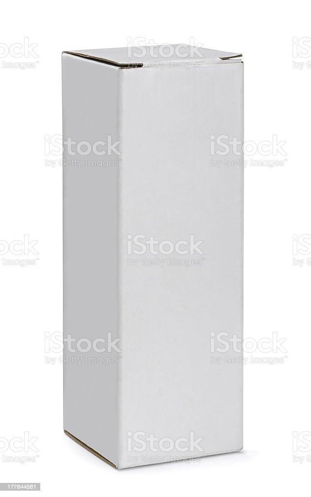 Tall box stock photo