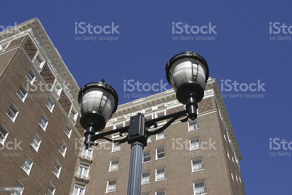 Tall Building in Greenville, SC royalty-free stock photo