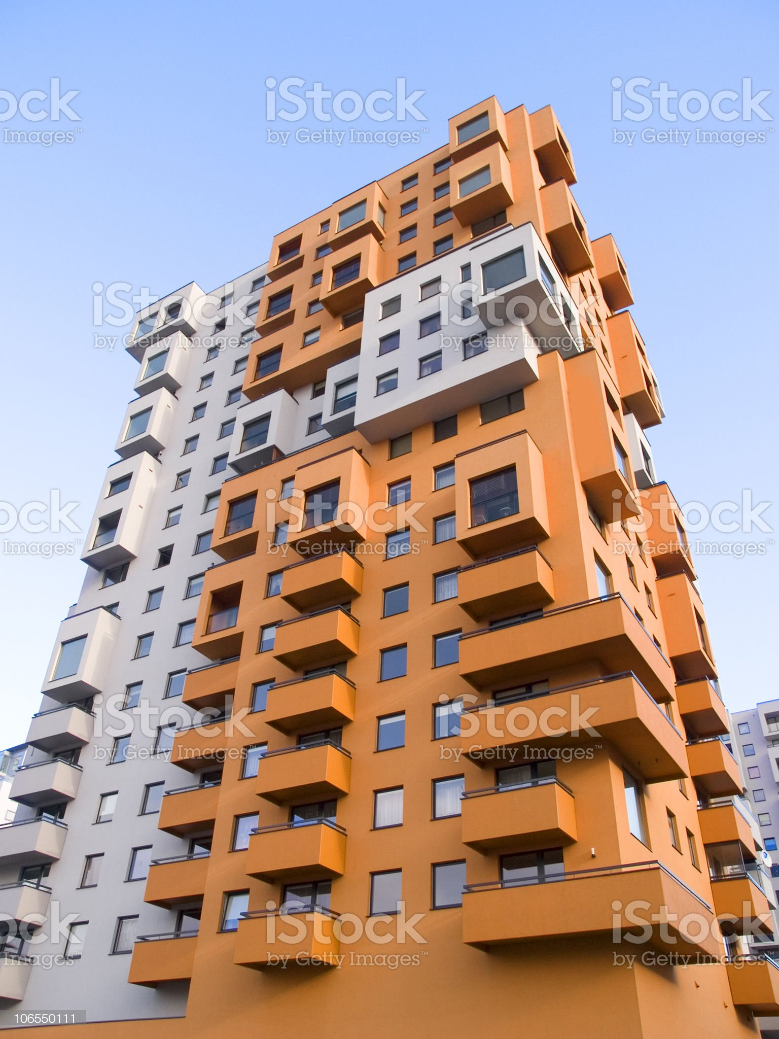 Tall building royalty-free stock photo
