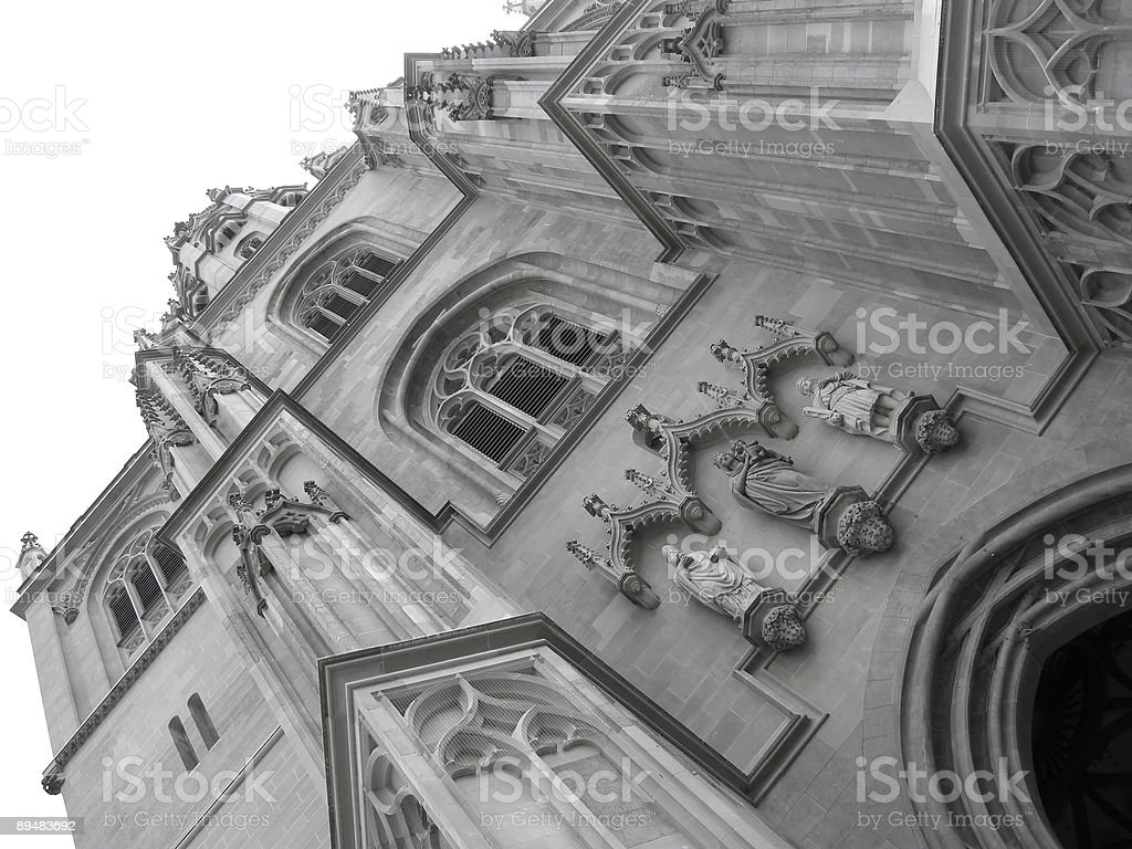 Tall Cathedral royalty-free stock photo