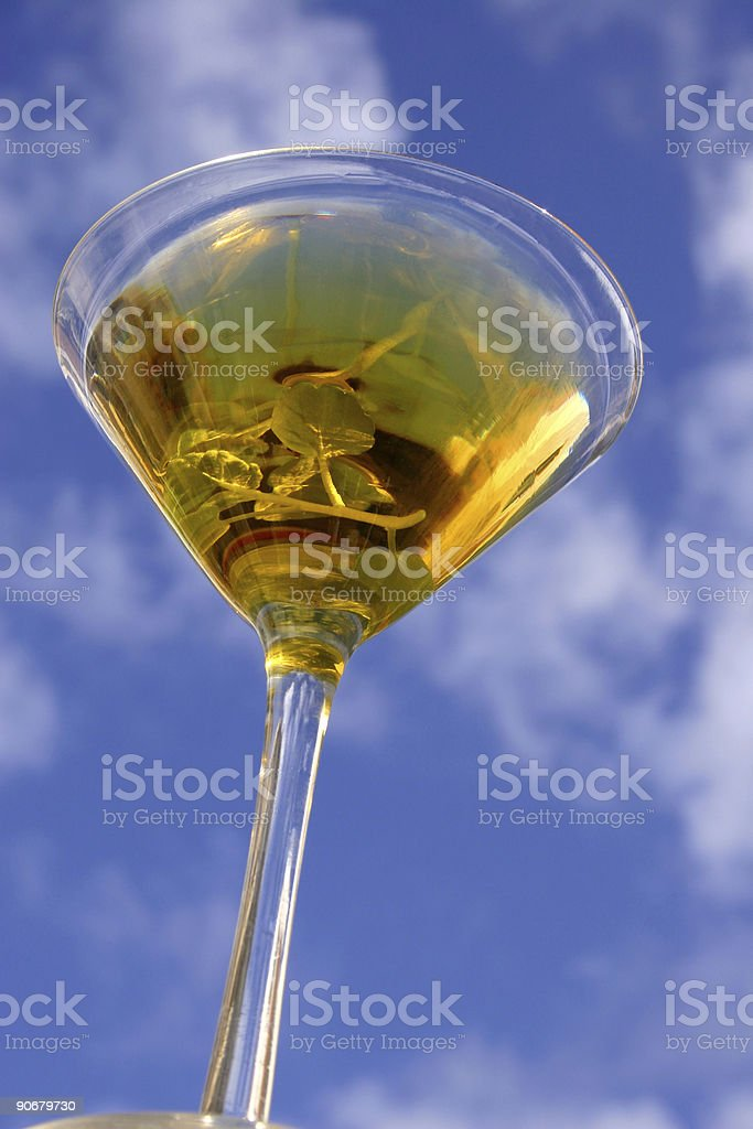 Tall Cocktail royalty-free stock photo
