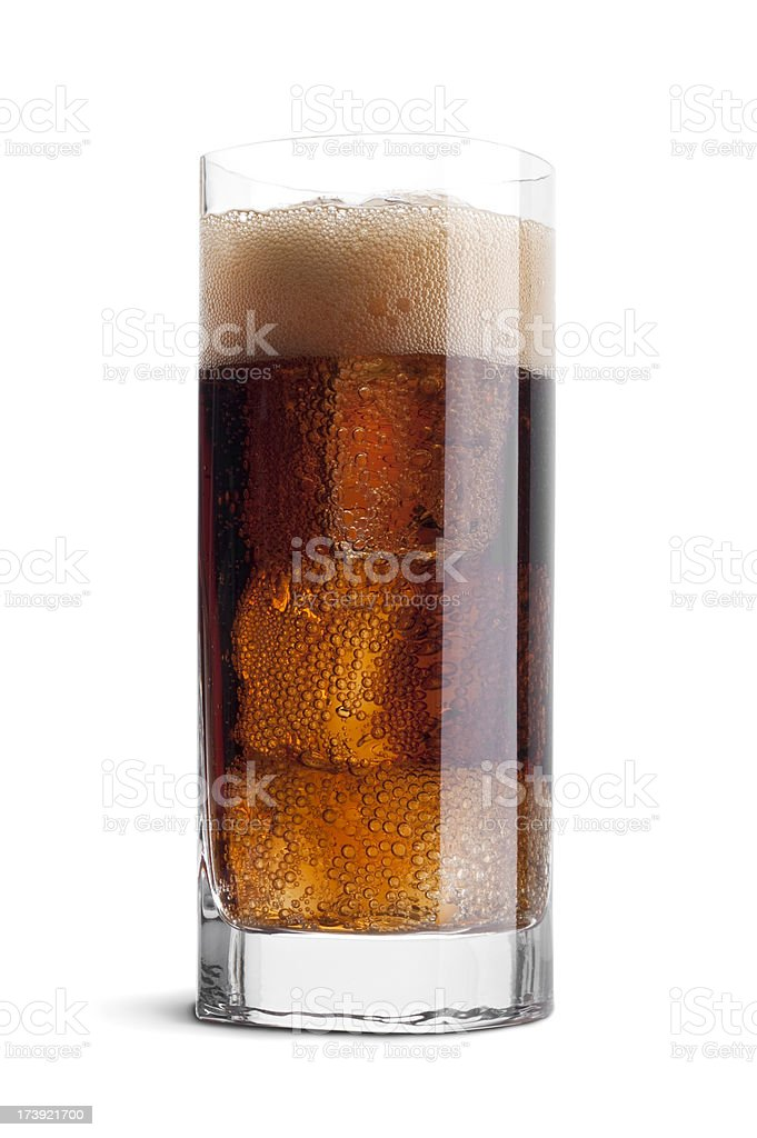 Tall Cola royalty-free stock photo