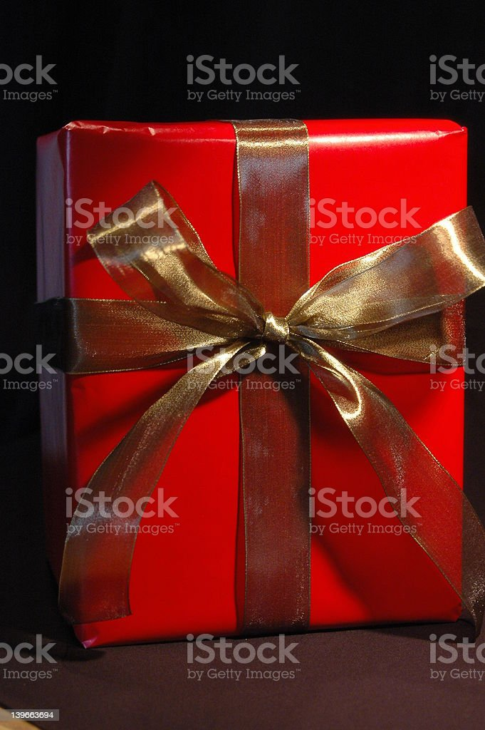 Tall Gift royalty-free stock photo