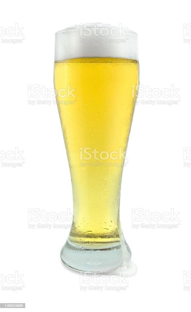 Pinte de bière avec filtre photo libre de droits